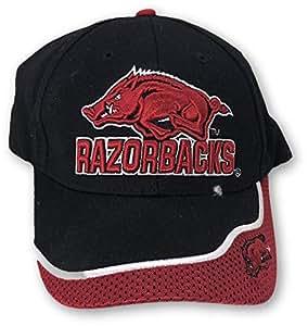 户外帽 NCAA 阿肯色大学野猪队双色可调节帽子