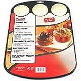 WMF旗下品牌德国凯撒 Kaiser 松饼烤盘套装 2300646022(亚马逊进口直采,德国品牌)