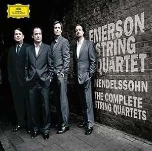 进口CD:门德尔松弦乐四重奏/埃莫森四重奏团(4CD)(4775370)
