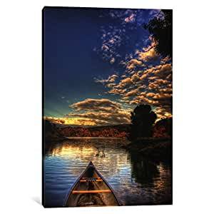 iCanvasART 7044-1PC3-40x26 Tip of a Boat Canvas Print by Bob Larson, 0.75 x 26 x 40-Inch