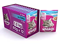 Whiskas Wet Meal Adult Cat Food, Tuna in Jelly, 1.02 kg