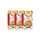 Simple Mills Naturally Gluten Free Crunchy Cookies, Cinnamon, 3 Count PACKAGING MAY VARY