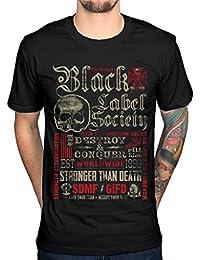 官方 Black Label Society Destroy & Conquer T 恤