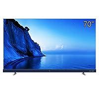 TCL 70A950U 70英寸 34核 人工智能 纤薄金属机身 HDR 4K 液晶电视机(银色)(亚马逊自营商品,由供应商配送)