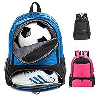 Tindecokin 青年足球包 - 足球包篮球包足球排球手球背包训练包