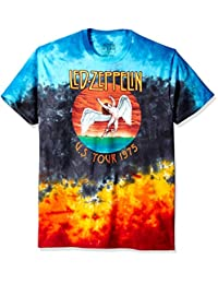 Liquid Blue Men's Led Zeppelin Icarus 1975 T-Shirt