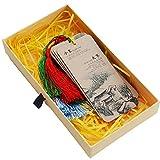 非遗二十四节气水墨画古风书签 中英文双语历史文化纪念品 学校班级出国小礼品