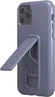 Wild Flag Eezl 手機殼專為 iPhone 11 Pro(5.8 英寸)設計 - 超薄,堅固的 8 英尺防摔,縱向/橫向支架,*指環抓握,兼容無線充電(美國保修)Eezl Case 紫色(Lavender)