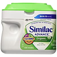 Similac 雅培 Organic Advance婴儿配方奶粉 1 段 0-12个月 658g