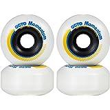 chaya Octo Wheels, Momentum Park, 100A, 4 件滑板鞋配件,白色,58 毫米