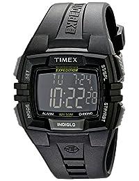 TIMEX 天美时 美国品牌 户外系列 石英手表 男士腕表 T49900 (24小时倒计时功能 100小时多功能计时 99圈计数 5分钟重复闹铃提醒 )