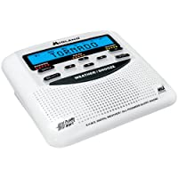 Midland WR120EZ NOAA Weather Alert All Hazard Public Alert Certified Radio with SAME, Trilingual Display and Alarm Clock - Box Packaging