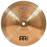 Meinl Cymbals 8 英寸铃铛,高音 – HCS 传统抛光青铜鼓套装,德国制造,2 年质保 (HCSB8BH)