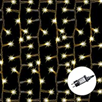 AMARE LED 灯链,暖白色,适用于室内室外,不同规格 暖白 Baumlichterkette 400 LEDs - 5 Stränge 9700-1000-05