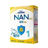 雀巢 Nestle  能恩1段  0-6个月婴儿配方奶粉 400g 盒装(新老包装随机发货)