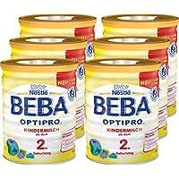 Nestlé雀巢 BEBA贝巴 OPTIPRO 儿童奶粉 (2岁以上)可重复密封 附带量匙 800克每罐,6罐(6 x 800克)