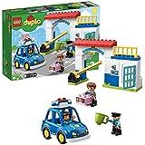 LEGO 乐高 拼插类玩具 得宝系列 10902 警察局 2+岁 积木玩具