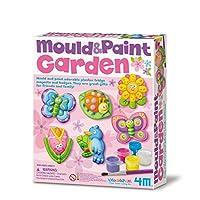 4M 石膏彩模系列 創意美術手工DIY玩具 夢境花園