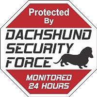 """Dachshund 狗院标志""""Security Force Dachshund"""""""