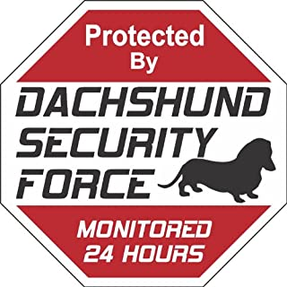 "Dachshund 狗院标志""Security Force Dachshund"""