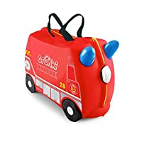 英国 Trunki 骑坐式小型行李箱-消防车(Freddie) TR0254-GB01