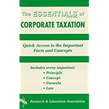 Corporate Taxation Essentials (Essentials Study Guides) (English Edition)