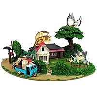 SANKEI 吉卜力工作室系列 龙猫 龙猫满满的吉欧拉玛 纸模型 MK07-35