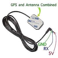 带天线的 GPS 模块,IV-18 VFD 时钟,UART