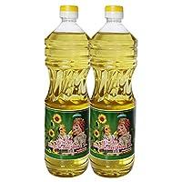 阿尔辰晞牌 2瓶 葵花籽油 俄罗斯亚原装进口 食用油(葵花籽油 1L)