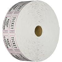 TICKET GURUS 双壁纸卷:2000 卷- 白色