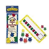 Learning Resources 三熊家庭图案卡 数学早教卡 玩具 (与三只熊家庭计数器配合使用,3岁以上)