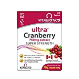 Vitabiotics UltraCranberry 超蔓越莓 - 30片
