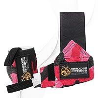 手腕挤压来自 dmoose 健身?�C?优质强力魔术贴拇指 Loops?�C?maximize YOUR 举重 powerlifting 健美力量训练 & crossfit
