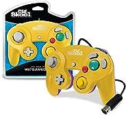 Old Skool GameCube / Wii 兼容控制器 - 黄色/紫色特别版