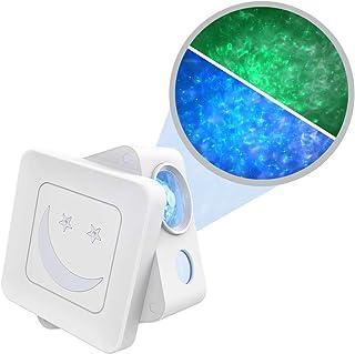 YSD 夜光星星投影机 LED 星空投影机 带语音控制和音乐节奏可调角度和光度,*适合卧室、儿童成人卧室装饰、游戏室、家庭影院