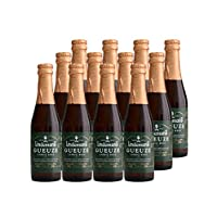 林德曼 比利时进口水果啤酒 Lindemans林德曼混酿啤酒250ml x12瓶组合