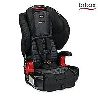 (跨境自营)(包税) 美版 Britax PIONEER Combination Harness-2-Booster儿童安全座椅, DOMINO 多米诺黑