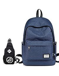 木村耀司 韩版双肩包男时尚休闲旅行背包运动电脑校园书包大学生潮