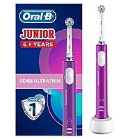 Oral-B 歐樂B Junior 電動兒童牙刷,適合6歲以上兒童使用,紫色