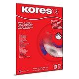 Kores 21 x 29.7 厘米 碳纸 适用于 typewriting-bleu-lot 10 件