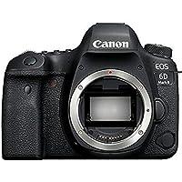 Canon佳能 EOS 6D Mark II/6D2单反数码相机 全画幅高端单反相机 6D升级款二代 附送Aisying单反包+钢化膜 (官方标配, 6D2机身)