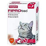 Beaphar Fiprotec 猫斑点,6 个导管