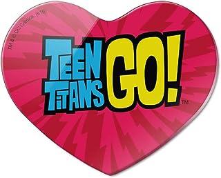 Teen Titans Go! 标志心形丙烯酸冰箱冰箱磁贴