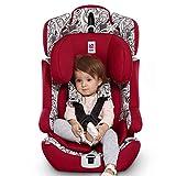 感恩 儿童安全座椅 汽车宝宝儿童安全坐椅 isofix硬接口 9月-12岁 乔伊红(供应商直送)