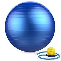 MoKo PVC加厚3MM防爆瑜伽球 孕妇减肥瑜珈球 瘦身健身球 塑形健身球 瑜珈平衡球 送打气筒