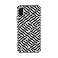 STIL iPhone XS Max 手机壳 KAISER II 微型钛(钢制冷阴影)6.5英寸 苹果手机 套 支持无线充电【日本正规代理店商品】 ST14318i65