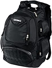 OGIO Metro Street 电脑笔记本电脑背包,黑色
