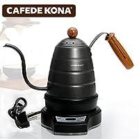 CAFEDE KONA电细口手冲咖啡壶 家用保温计时不锈钢长嘴滴漏手冲壶