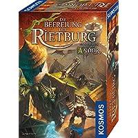 KOSMOS 695064 – Rietburg的解放 Andor 世界的游戲 棋盤游戲 適合2至4名10歲以上玩家,幻想游戲