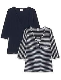 Mamalicious 女式孕妇长袖上衣(2 件装)